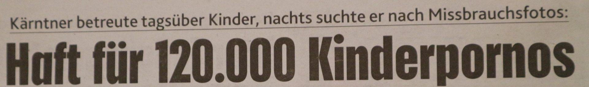 Sexuell sadistischer Triebtäter bekam für diese 120.000 Kindopfer - 6Monate Haft!