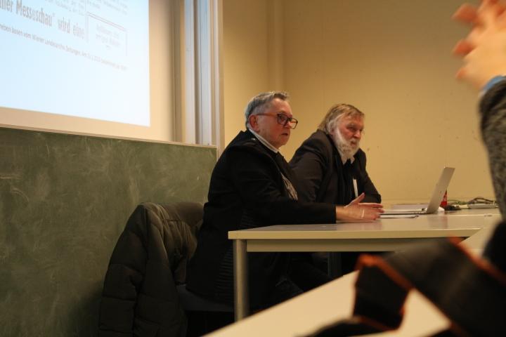 Mein Referat an der Keppler Universität Linz