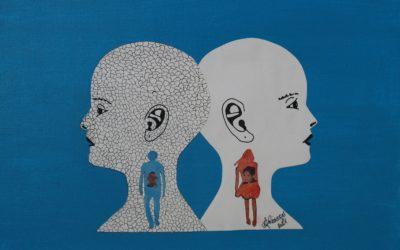 Malerei- Seelenmenschen